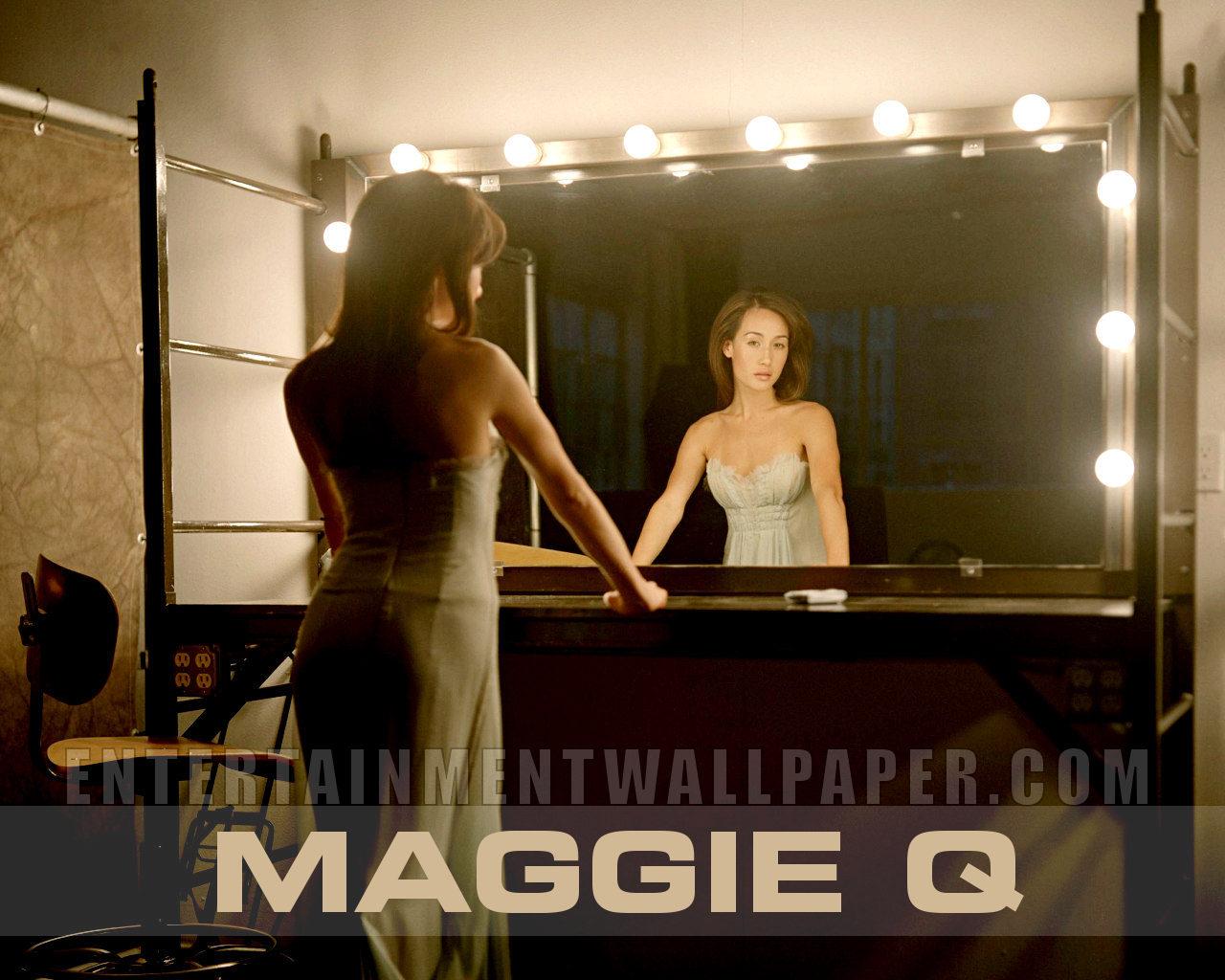 Maggie Q Wallpaper