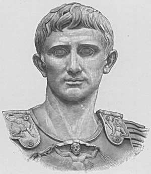 Marcus Antonius-Mark Antony (January 14, 83 BC – August 1, 30 BC)