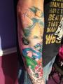Mario Kart Tattoo Sleeve - mario-kart photo