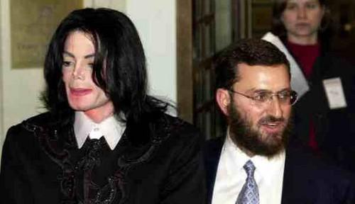 Michael And Former Spiritual Advisor, Rabbi Schumley Boteach