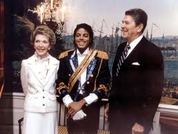 Michael During His Visit To The White House Back In 1984