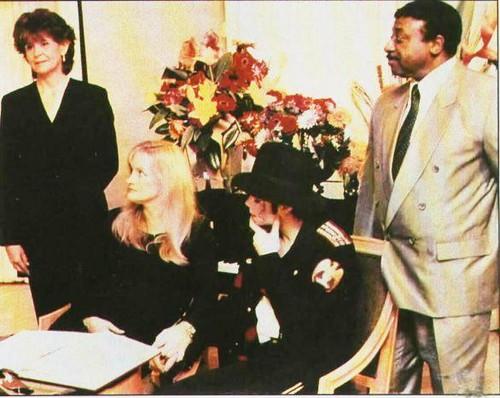 Michael Jackson & Debbie Rowe (RARE)