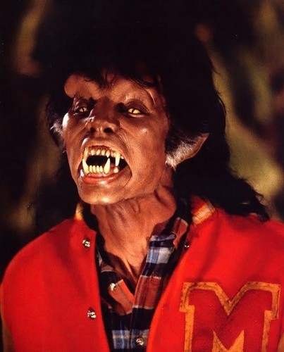 manusia serigala wallpaper entitled Michael Jackson Thriller werewolf
