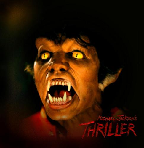 licantropi wallpaper called Michael Jackson Thriller werewolf