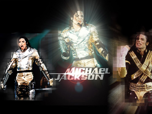 Michael Jackson wallpaper possibly containing a green beret, a lippizan, and battle dress called Michael Jackson ♥♥