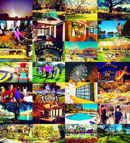 Michael Jackson's old hometown Neverland Valley Ranch ♥♥