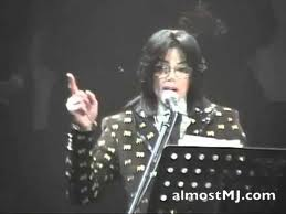 Michael Speaking In Japan