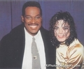 Michael and Luther - michael-jackson photo