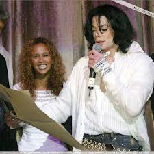 "Michael's ""45th"" Birthday Back In 2003"