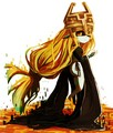 Midna - the-legend-of-zelda fan art