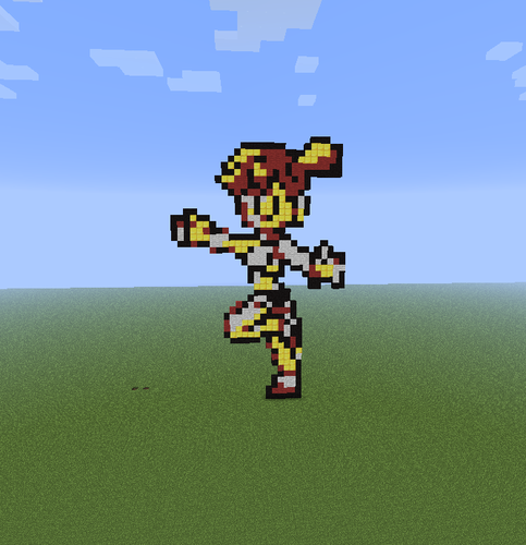 Minecraft Pixel Art! fond d'écran called Misty
