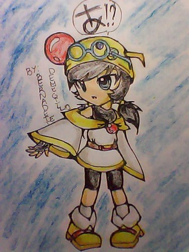 Boboiboy achtergrond possibly with anime titled My fan Art of Ying anime Costplaying Saber Marionette