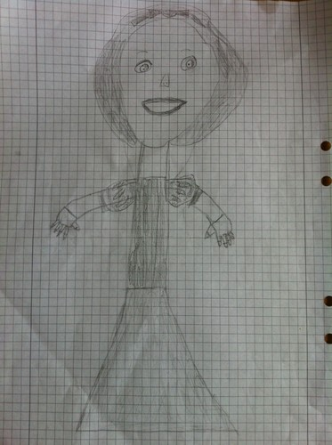 My Snow White drawing