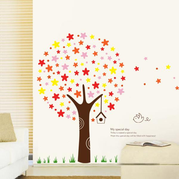 My Special Day Star Tree Wall Sticker