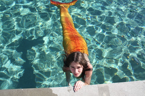 My h2o mermaid tail