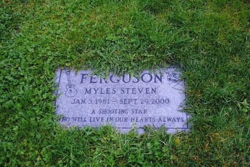 Myles Ferguson (January 3, 1981 – September 29, 2000)