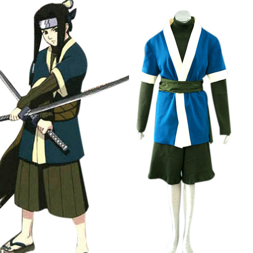 Naruto Haku Ha Cosplay Costume