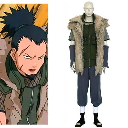 火影忍者 Shikaku Nara Cosplay Costume
