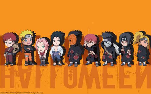 Naruto Shippuden Chibis