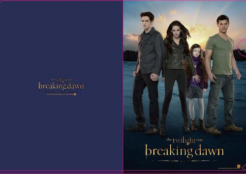 New BD 2 Promo Pic=Edward/Bella/Renesmee/Jacob