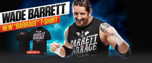 New Wade Barrett hemd, shirt on WWEShop.com