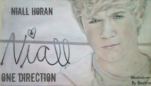 Niall Horan Drawing