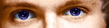 Niall's eyes