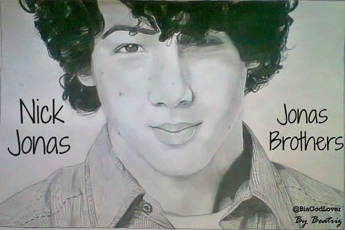 Nick Jonas Drawing