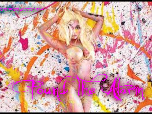 Nicki Minaj-Pound The Alarm Album (Single) Fanmade