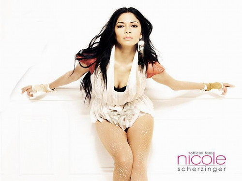 니콜 셰르징거 바탕화면 probably containing a swimsuit, a leotard, and tights called Nicole Scherzinger
