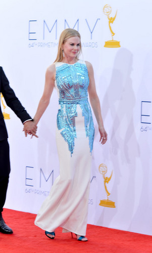 Nicole arrives at 64th Annual Primetime Emmy Awards