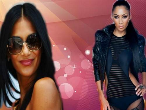 Nicole Scherzinger wallpaper containing sunglasses titled Nicole