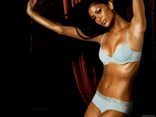 nicole scherzinger wallpaper containing a brassiere called Nicole