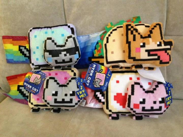 Nyan Cat Plushy Toys