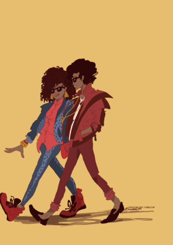 Ola Ray and Michael Jackson ♥♥