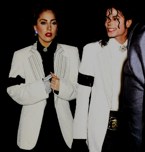 Our Queen Lady Gaga and Our King Michael Jackson ♥♥