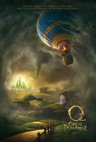 disney fondo de pantalla titled Oz: The Great and Powerful Movie Poster