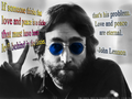 PEACE AND LOVE - john-lennon fan art