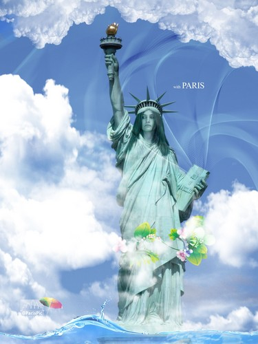 Paris Jackson The Statue Of Liberty (@ParisPic)
