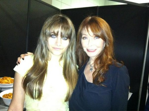 Paris Jackson and Elvira ♥♥
