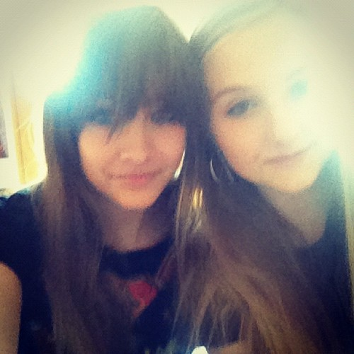Paris Jackson and her friend Missy ♥♥