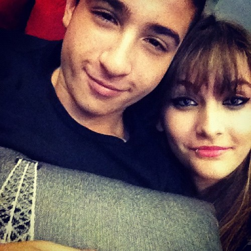Paris's friend Shak and Paris Jackson ♥♥