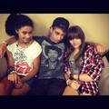 Paris:  the 3 musketeers<3333 @simplyshak @michaelablanks    - paris-jackson photo