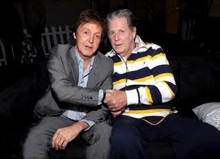 Paul with Brian Wilson