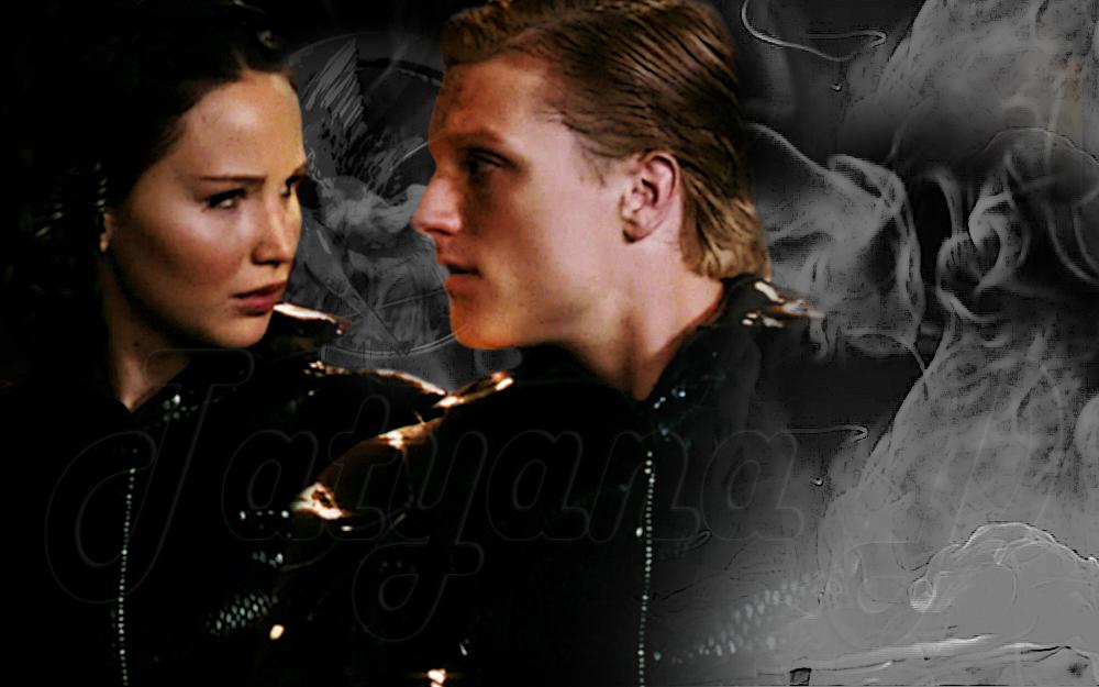 Peeta and Katniss - Peeta Mellark and Katniss Everdeen