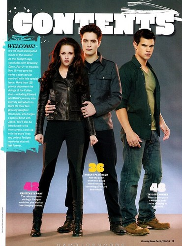People Magazine Breaking Dawn Part 2 Tribute