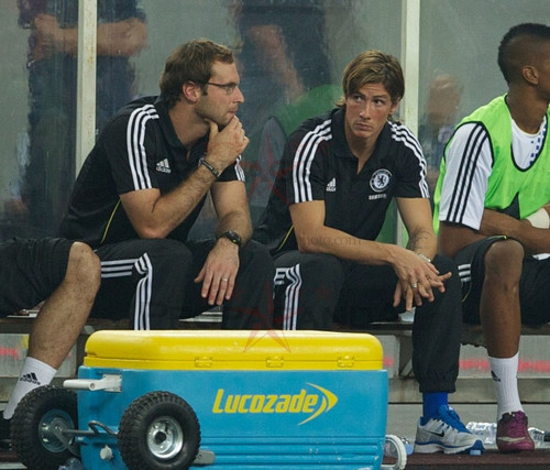 Petr Cech & Fernando Torres