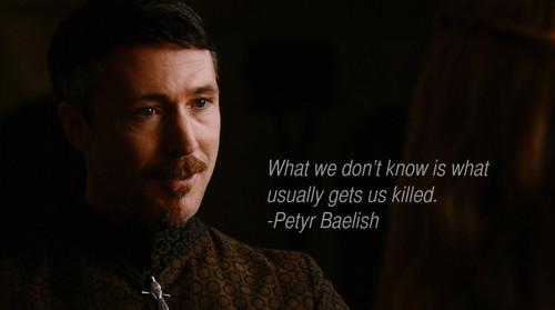 Petyr Baelish Quote
