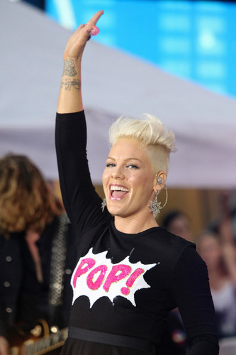 Pink Performs On NBC&#39;s &#34;Today&#34; - pink Photo