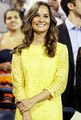 Pippa Middleton attends the US Open on September 5, 2012